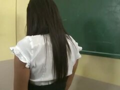 Schoolgirl punishment