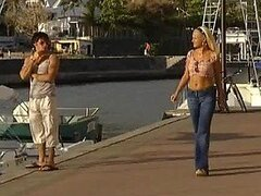 Outdoors Boat Fuck With A Really Sex Blonde With Natural Tits