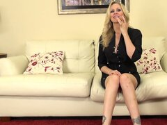 Julia Ann likes talking about sex but would much rather get undressed