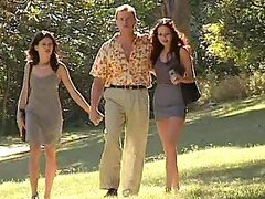 Randy & Naughty Couples In The Woods