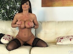 Lisa Ann and her gorgeous melons are here to stun you in this solo flick