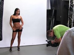 Backstage with Lucy Belle Getting DP