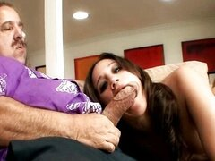 Teeny nailed by her step daddy