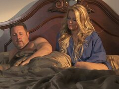 Ardent group sex with Jessica Drake...