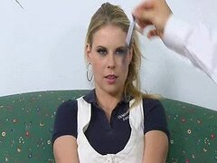 Hot twin sisters Tati and Taylor gets a hard fuck from the school psychiatrist