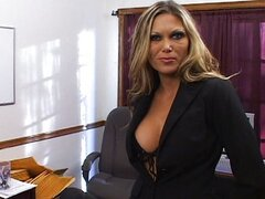 Ana Nova fucked in office during interview