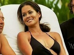 Drop Dead Gorgeous Babe Brooke Burke Posing - Behind The Scenes Video