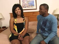 Ebony wife gets big load on her beautiful tits - Homemade Media