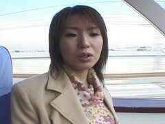 Asian milf played in the cunt