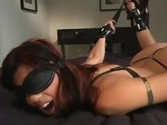 Smoking hot Asian babe gets her delicious pussy tortured