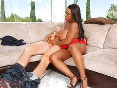 I don t know how about you but to me fucking some big ebony booty with great bust is something like a God s gift Black girls do match white slut they are all cock hungry...