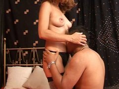 Hot and steamy action with a Latin stud licking her ass and rubbing it with his cock