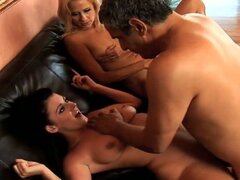 Threesome with sophie and mom