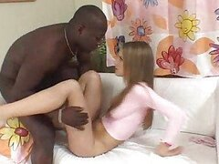 Black dick for her tight...