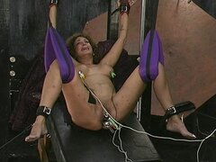 Perverted mature being humiliated ans spanked with pain