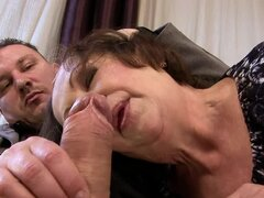 Eve Tickler blows and gets fucked in cowgirl position