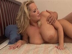 CHUBBY BUSTY BLONDE GETS A GOOD FUCKING