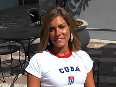 Hot Cuban Babe Bella Beyle Is In For Some Hardcore Action