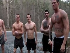Rosso Twins Gang Bang JO - Ross Twins - Tony Paradise - Sebastian Young - Hayden Richards - Aaron Anderson