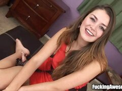 Allie Haze talks about her experience on giving blowjobs.